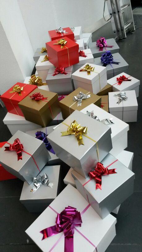 cadeautjes kerstdecoratie